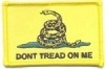 Don't Tread On Me Yellow Patch