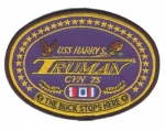 USS HARRY S.TRUMAN CVN 75 PATCH