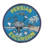 "PERSION EXCURSION w/CARRIER 4"" PATCH"