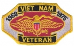 VIETNAM VETERAN (1959-1975) PATCH