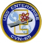 USA-USS ENTERPRISE CVN-65 PATCH