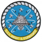 USS EISENHOWER(CVN-69) PATCH