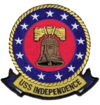 USS INDEPENDENCE(CV-62) PATCH