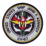 USS J.F.KENNEDY(CV-67) PATCH