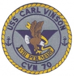 USS CARL VINSON(CVN-70) PATCH