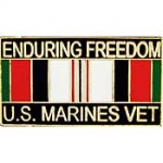 "ENDUR.FREED,USMC,VET. (1-1/8"") PIN"