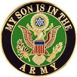 "ARMY LOGO,SON (1"") PIN"