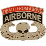 "ARMY,PARA,A/B,DEATH (1-1/8"") WING PIN"