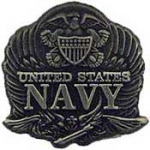 "USN LOGO,PEWTER (1"") PIN"
