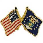 "USAF,FLAG,USA/USAF,SM (1"") PIN"