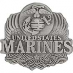 "USMC LOGO,PEWTER (1"") PIN"
