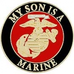 "USMC LOGO,SON (15/16"") PIN"
