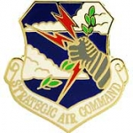 "USAF,STRATEGIC AIR CM (MINI) (3/4"") PIN"