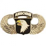 "ARMY,101ST A/B (SILVER) (1-1/4"") WING PIN"
