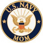 "USN LOGO,MOM (15/16"")"