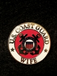 "USCG,LOGO,WIFE (15/16"") PIN"