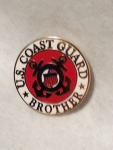 "USCG,LOGO,BROTHER (15/16"") PIN"