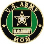 "ARMY LOGO,MOM (1"")"