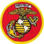 USMC Marines Globe and Anchor Patch