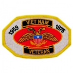 VIETNAM,VETERAN, 1959-75 PATCH