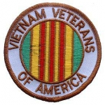 "VIETNAM,VETS OF AM. (3"") PATCH"