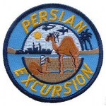 "DESTINATION .PERSIAN EXCURSION (SM 3"") PATCH"