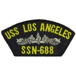 USS,LOS ANGELES SSN-688 PATCH