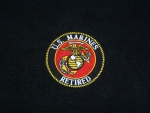 USMC Retired Patch (Logo3)