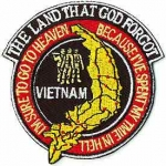 VIETNAM,THE LAND THAT GOD FORGOT PATCH