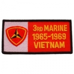 VIET,BDG,USMC,3RD 1965-1969 PATCH