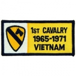 VIET,BDG,USAR,001ST 1965-1972 PATCH