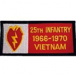 VIET,BDG,USAR,025TH 1966-1970 PATCH