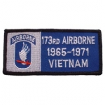 VIET,BDG,USAR,173RD 1965-1971 PATCH