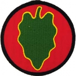 US ARMY  24th INF DIV PATCH