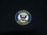 US Navy Retired (logo 3) Blu/Gld