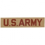 ARMY,TAB,US.ARMY (DESERT) Printed
