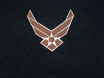 US Airforce Logo 2 Wings Desert patch