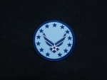 US Airforce Logo 3 W/Hap Stars patch