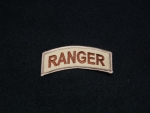 US Army Ranger Desert Tab Patch