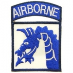 US Army 18th Airborne Patch