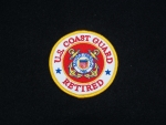 Unites States Coast Guard Retired Patch