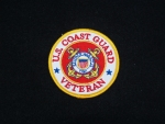 Unites States Coast Guard Veteran Patch