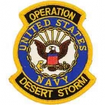 DESERT.STORM,US NAVY SHIELD PATCH