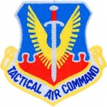 US AIRFORCE TACTICAL AIR CMD PATCH