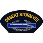 DESERT STORM .HAT,CIB,VETERAN PATCH