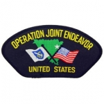 OPERATION JOINT ENDEAVOR HAT PATCH