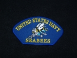 US Navy Seabees Hat patch