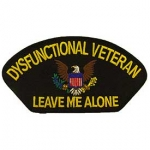 "DYSFUNCTIONAL VET ""LEAVE ME ALONE"" PATCH"