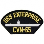 USS,ENTERPRISE CVN-65 PATCH