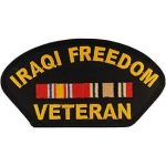 IRAQI FREEDOM VETERAN HAT PATCH